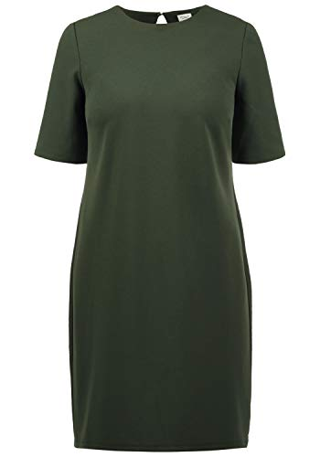 ONLY Estelle Damen Abendkleid Cocktailkleid Festliches Kleid Mit Rückenausschnitt, Größe:L, Farbe:Duffle Bag