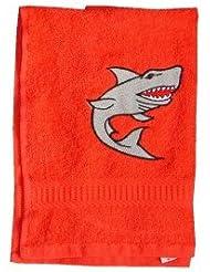 Handtuch aus Frottee mit Bestickung Haimotiv