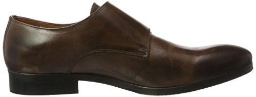 MALATESTA  MT0160, Chaussures de ville à lacets pour homme Marron