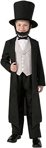 d Costume Medium (Abraham Lincoln-kostüm Für Kinder)