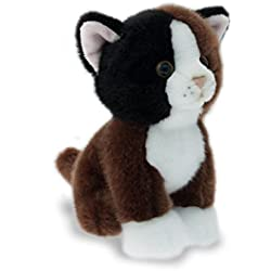 Teorema Peluche Nice & Good Gato Marrone/Bianco