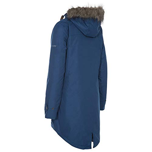 31k64UYggGL. SS500  - Trespass Clea Womens Padded Waterproof Coat with Hood