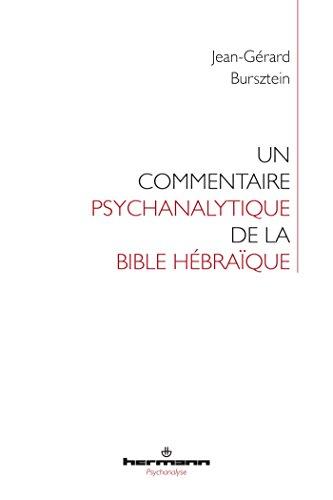 Un commentaire psychanalytique de la Bible hébraïque par From Editions Hermann