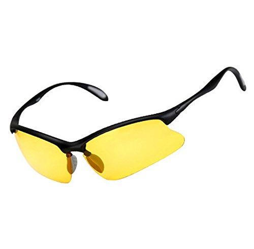 ZYPMM Polarisierte High Definition Fair Fischen Fisch Eyewear Outdoor Spezielle Schwelle Spiegel Licht Angeln Sonnenbrille Outdoor UV Schutz Männer & Frauen Universal (Color : Gelb)