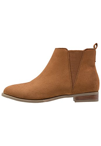Anna Field Ankle Boots Stiefel Damen Braun, Größe 37