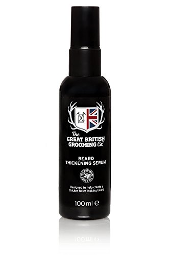 The Great British Grooming Company Beard Thickening Serum 100ml