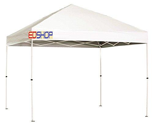Pavillon 3x 3Zelt Markise weiß wasserdicht 100%, beschichtetes Dach, zusammenfaltbar wie eine Ziehharmonika