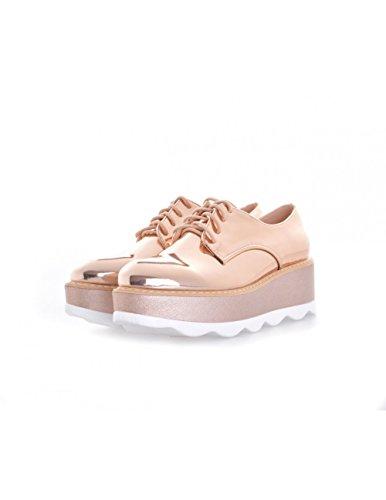 Studio Creazioni Chaussures de ville à lacets pour femme Rose