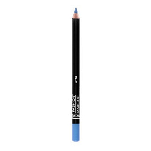 FASHION MAKE UP - Maquillage Yeux - Crayon Bois - N° 16 Azur