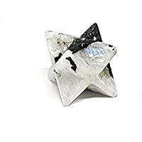 Eclectic Shop UK Merkaba Stern Reiki-Energie aufgeladen Mondstein natürlich Kristall Stein NEU Beginnings preisvergleich bei billige-tabletten.eu