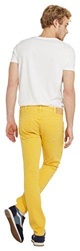 Wrangler Herren Slim Jeans Larston Gelb (Daffodil Yellow 8K)