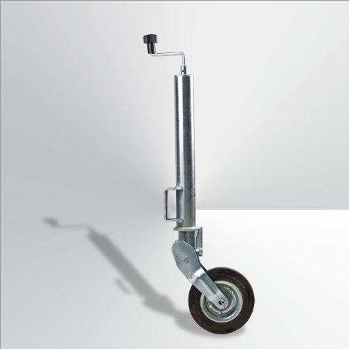 DEMA Stützrad automatisch klappbar 400 kg verzinkt
