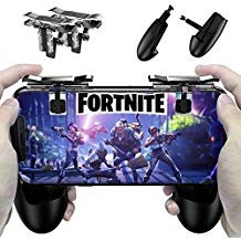 M1 Controlador de Juegos móvil, Disparo Sensible y Aim Keys L1R1 y Gamepad para PUBG/Fortnite / Reglas de Supervivencia, Joysticks de Juegos móviles para Android iOS