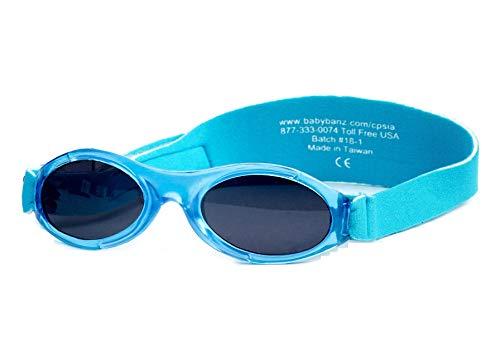 Banz Baby Bubzee Sonnenbrillen für Kinder von 0 bis 2 Jahren (Blaue Lagune)