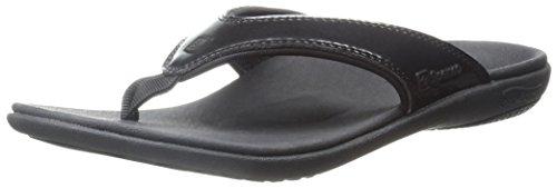 Spenco Women's Yumi Sandal, Black, 9 M US - 09 Womens Schuhe