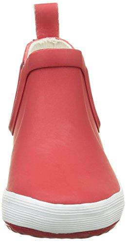 Aigle Lolly Chelsea, Bottes de Pluie Mixte Enfant Rouge