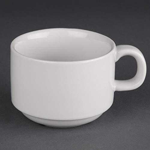 Athena Hotelware CC200stapelbar Tasse, weiß (24Stück)