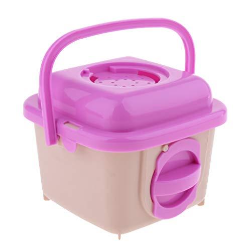 SM SunniMix Transportbox für Hamster, 13x13x10,3 cm - Rosa (Transportbox Für Hamster)