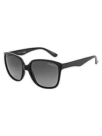 Farenheit Polarized Square Women's Sunglasses - (SOC-FA-2453-C1|54|Grey Color Lens)