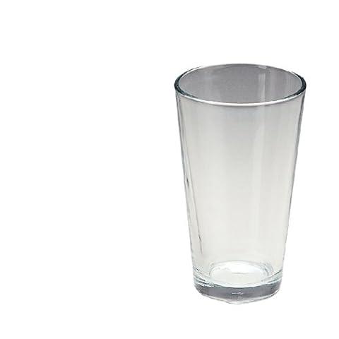 12X Boston Shaker Glass 455ml Cocktail Bar Restaurant Tableware Commercial
