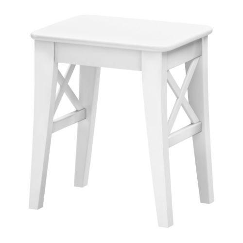 Ikea INGOLF-Hocker, weiß