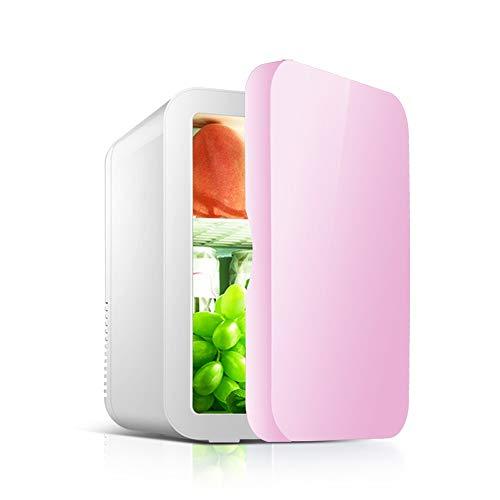 JU FU Minikühlschrank Auto Refrigerator-8L Auto Kleine Mini Kühlschrank Tragbare Home Student Schlafsaal Obst Maske Kosmetik Lagerung Kühlung Kühlschrank @@ (Color : Blue) - Wein-lagerung-container