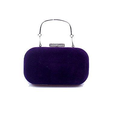 pwne Frauen Samt Formale/Event/Party/Hochzeit Abend Tasche Purple