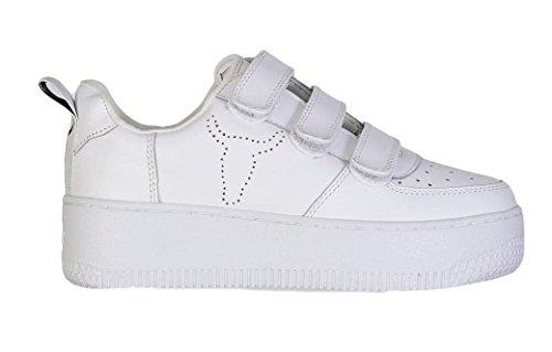 Windsor Smith , Damen Sneaker Weiß (Bianco)