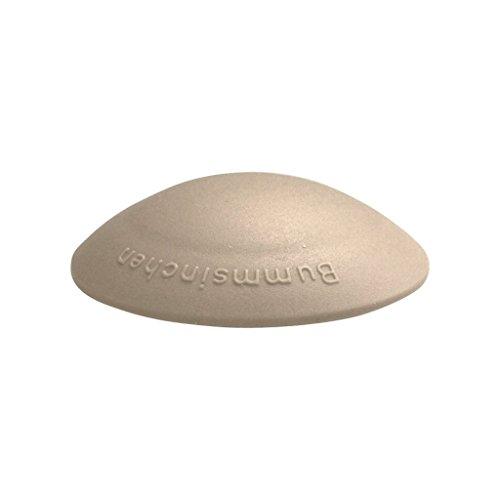 Türstopper Bummsinchen Türpuffer Wandpuffer selbstklebend und schraubbar für Wand und Boden 40mm by parkett-werk (beige, 1 Stück)
