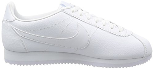 Nike - Classic Cortez Leather, Scarpe sportive Uomo Bianco (Blanco (Blanco (White/White-White)))