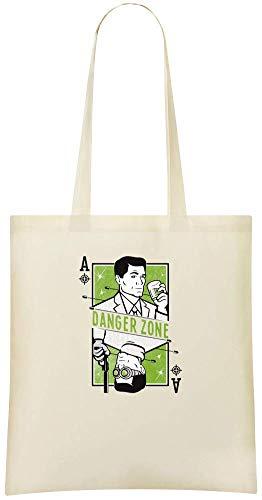 Bogenschütze der Spaten lustig - Archer Of Spades Funny Custom Printed Grocery Tote Bag - 100{835bdf8ef75c8025e8d13066ead1c9493b2223a1bf2465c7e12ee50a18f18855} Soft Cotton - Eco-Friendly & Stylish Handbag For Everyday Use - Custom Shoulder Bags