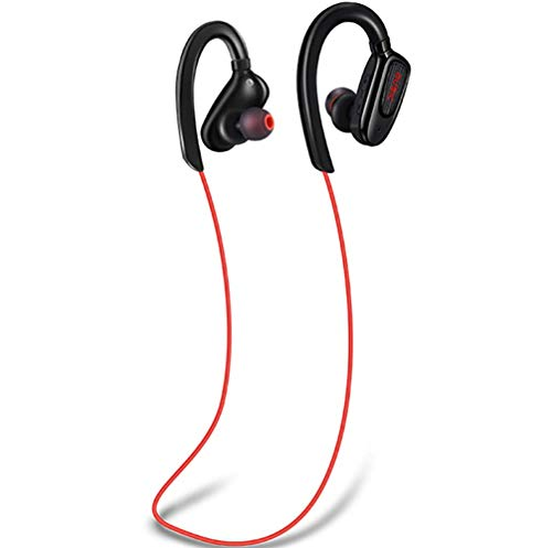 Drahtloses Bluetooth-Headset Sports Hanging Ear Halter Stereo Dual Headset Bluetooth 4.1 Silicon Mai Noise Reduction Stereo-halter