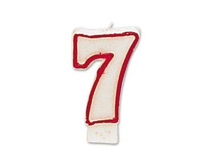 Kerze Nummer 7