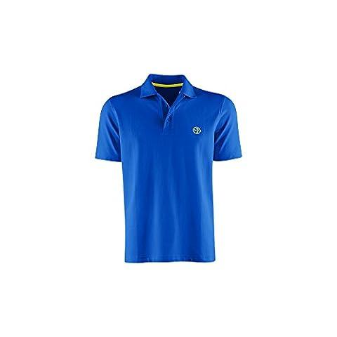 Zumba Men's Polo Shirt Bleu Surfs-Up Blue moyen