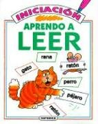 Aprendo A Leer, Iniciacion = I'm Learning to Read/First Books por Jenny Tyler