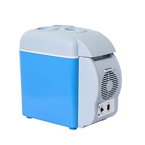 ZUEN Mini Auto 12V Frigorifero Portatile con 7,5 L refrigeratore termoelettrico per Auto Viaggi picnics Campeggio Nautica uffici