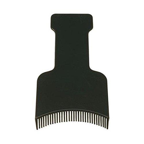 Spatola per mèches dentata - Nera
