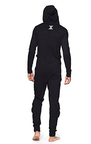 Onepiece Unisex Jumpsuit Air Schwarz (Black) - 4
