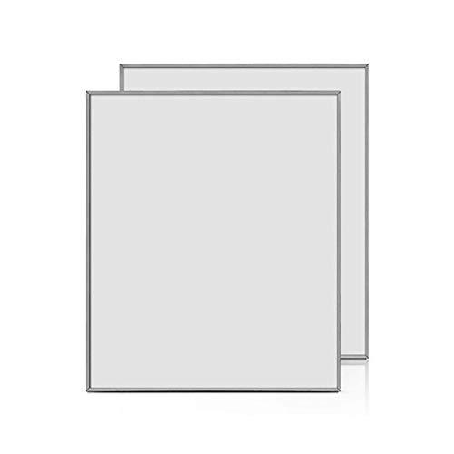 Radiateur électrique. Plat Chauffage mural infrarouge chauffage radiateur panneau chauffant 425 W (Convient à tout décor, Car dans n'importe quelle couleur lackierbar.)