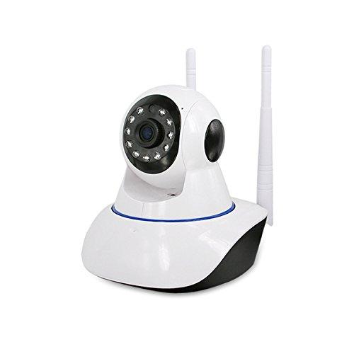 Telecamere di sorveglianza ip wifi camera senza fili, 1280 x 960p wireless videosorveglianza, visore notturno day&night camera di sorveglianza con ptz pan-tilt audio a due vie? motion detect alert