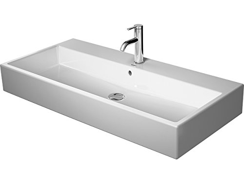 Duravit lavabo Vero Air 1000mm, blanco sin rebosadero sin orificio para grifo lijada, WG, 23501000791