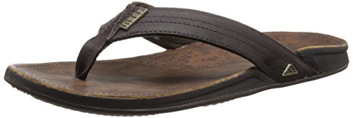 Reef - Sandali Uomo, Marrone (Dark Brown), 45 EU