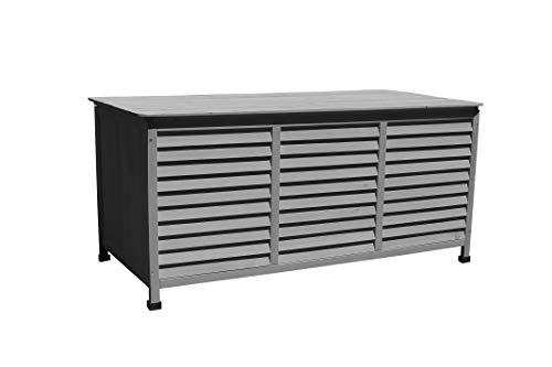 Leco Vintage dunkelgrau Kissenbox, 330 liters, Breite 130 cmTiefe 64 cmHöhe: ca. 60 cm