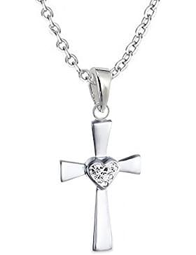 GH1a Kristall Herz Kreuz ANHÄNGE