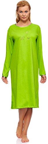 Merry Style Damen Langarm Nachthemd 91LW1