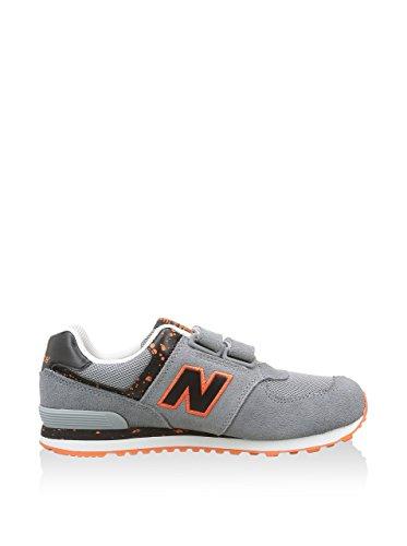 New Balance KG574 Unisex-Kinder Sneakers Grau