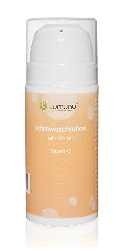 Deluxe Intim-Waschlotion (100ml) Lumunu REINLICH FEIN, natürliche Pflege mit Milchsäure für Frauen und Männer