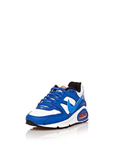 Nike Air Max Command (Gs) Calzatura White/Photo blue-Hyper cobalt-Team orange
