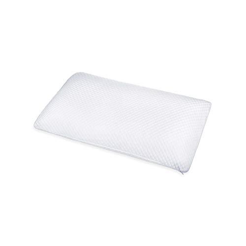 ABAKUHAUS Smartfoam Pillow, Schlafkissen aus Mikrofaser Gewebe Elastisch Orthopädisch Waschbarer Kopfkissenbezug aus Viscoschaum mit Atmungsaktiven und Luftdurchlässigen Materialien