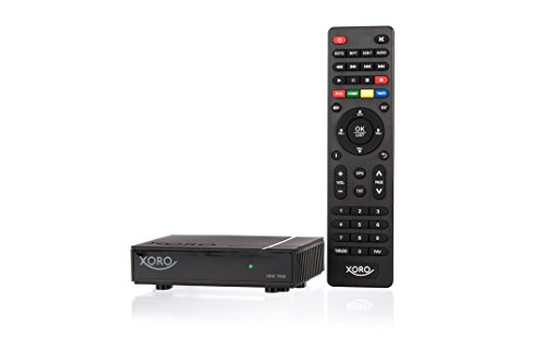 Xoro HRK7688 Mini HD ReceiverfürdigitalesKabelfernsehen(DVB-C, USB 2.0, PVR Ready, Mediaplayer, VESA 75/100) schwarz